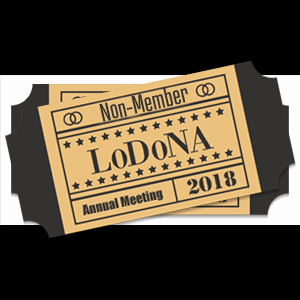 2018 Annual Meeting NonMember Ticket