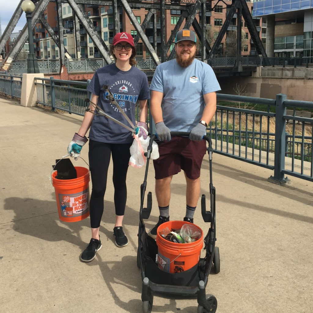 LoDo Cares Cleanup